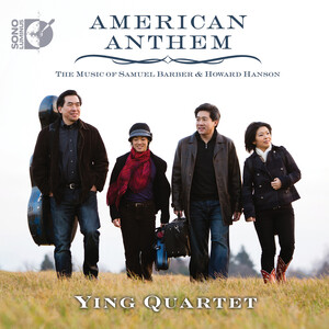 American Anthem: String Quartets by Barber, Hanson, Thompson, etc.