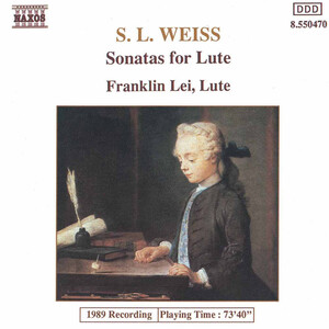 Weiss: Sonatas for Lute