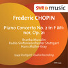 Chopin: Piano Concerto No. 2 in F Minor, Op. 21