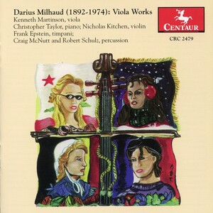 Milhaud: Viola Works