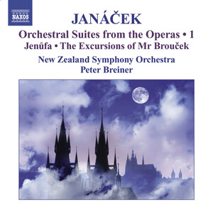 Janácek: Orchestral Suites from the Operas, Vol.1