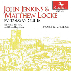 John Jenkins & Matthew Locke: Fantasias and Suites