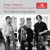 Taneyev: String Quartets No.2 and 6