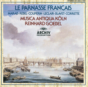 Le Parnasse Francais: French Baroque Chamber Works