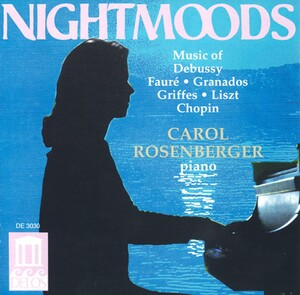 Night Moods: Piano Works by Chopin, Fauré, Granados, etc.