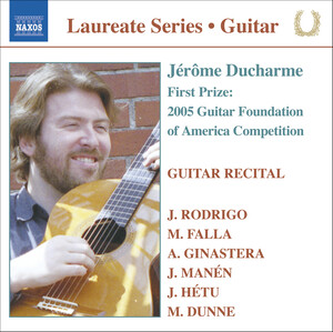 Jérôme Ducharme: Guitar Recital