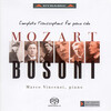 Mozart and Busoni: Complete Transcriptions for Solo Piano