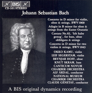 Bach: Concerto for VDoiolins in D- and Other Double Concertos