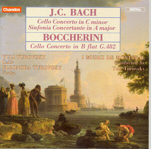 J.C. Bach: Cello Concerto in C minor; Sinfonia Concertante in A major; Boccherini: Cello Concerto in B flat