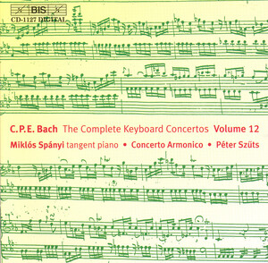C.P.E. Bach: The Complete Keyboard Concertos, Vol.12