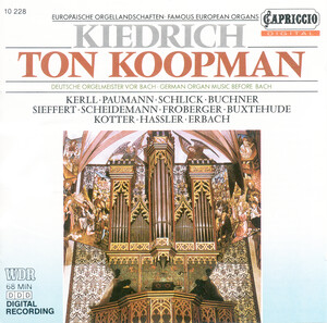 Kiedrich: Organ Works by J.S.Bach, Paumann, Kotter, etc.