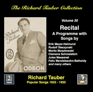 The Richard Tauber Collection, Vol. 30: Popular Songs (1922-1935; Remastered 2017)