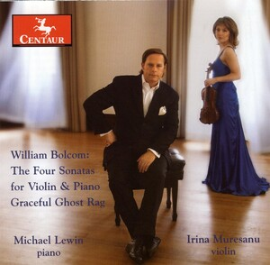 Bolcom: The 4 Sonatas for Violin and Piano; Graceful Ghost Rag