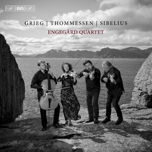 Grieg, Thommessen and Sibelius: String Quartets