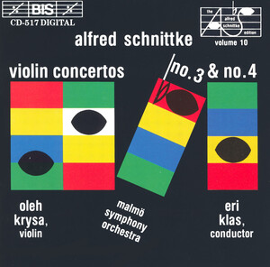 Schnittke: Violin Sonatas Nos.3 and 4