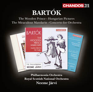 Bartók: The Wooden Prince, Hungarian Sketches, The Miraculous Mandarin and Concerto for Orchestra